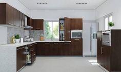 Imagini pentru l shaped modular kitchen designs