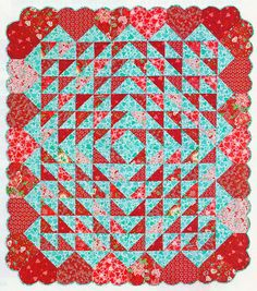 Hearts Afloat from Quiltmaker. Easy and adorable!