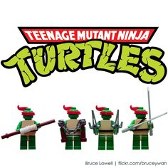 TMNT Legos?! Awesome!