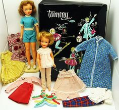 Fabulous Lot Vintage Tammy Pepper Dolls Clothes Case Stand Hangers | eBay