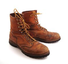 6aab2defbfe3 Red Wing Boots 1970s Irish Setter by purevintageclothing on Etsy Red Wing  Boots