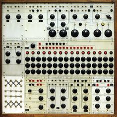 Buchla 100 Modular Synthesizer