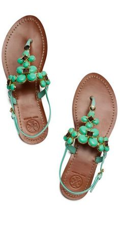 sweet sandals #toryburch