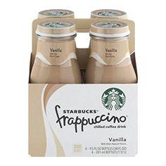 【4本セット】Starbucks frappuccino Vanilla 281mlx4 frappuccino Vanilla 281mlx4本 スターバックス フラプチーノ バニラ 日本未発売瓶