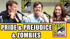 Pride and Prejudice and Zombies Comic Con Panel - Lily James, Sam Riley,...