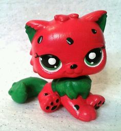 Wacky Watermelon OOAK Custom Littlest Pet Shop | eBay