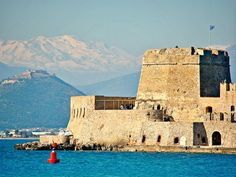 Free Image on Pixabay - Castle, Greece, Nafplion Greek Castle, Sunny Beach, Medieval Castle, Old City, Greek Islands, Architecture, Free Pictures, Monument Valley, Mount Rushmore