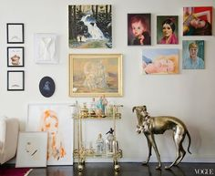 Spicer + Bank: by Allison Egan: House Tour: Vintage Flair in Greenwich Village