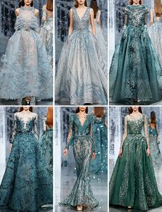 "Ziad Nakad Fall/Winter 2017-2018 Haute Couture Collection: ""The Snow Crystal Forest"" (1/2)"