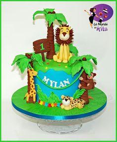 Le Monde de Kita: Les Animaux de la Jungle Mylan vient tout juste de...