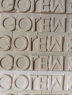 golem, golem, golem, golem, golem…. #design #architecture #tiles #handcraft #MadeInGermany #ceramics www.golem-baukeramik.de