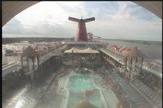 Carnival Fascination - Deck (Aft) Webcam / Camera