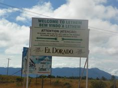 Chegando a Lethem,Guiana