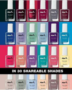 Gel Nail Polishes available in various colours. Order at www.Avon.UK.com/store/najjo8844