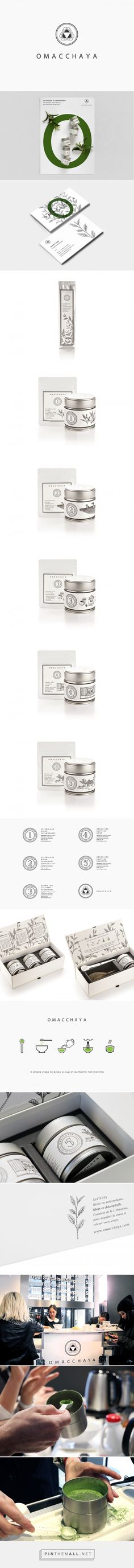 OMACCHAYA Tea Branding and Packaging by Lee Ching Tat | Fivestar Branding Agency – Design and Branding Agency & Curated Inspiration Gallery