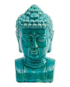 Ceramic+Buddha+Head