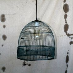 Vintage Birdcage Pendant now featured on Fab.
