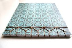Japanese Stab Binding: Hemp Leaf Pattern tutorial by Lori Forgues