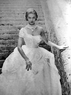 Jean Patchett for Vogue US,1951.