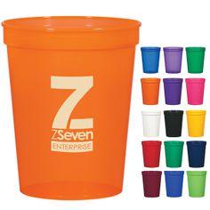 Promotional Economy 16 oz. Stadium Cup | Customized Economy 16 oz. Stadium Cup | Logo Plastic Cups