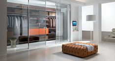 Interior: Modern Transparent Walk In Closet Design, walk in closet . Glass Closet Doors, Sliding Wardrobe Doors, Sliding Glass Door, Glass Doors, Sliding Doors, Wardrobe Furniture, Bedroom Wardrobe, Wardrobe Closet, Organizing Wardrobe