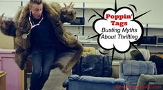 Poppin' Tags: Busting Myths About Thrifting - Life in Pleasantville I love Value Village and what they stand for. Not only is it fun to shop there, but they tend to have exactly what you need when you need it. Thrift Stores, Money Matters, Thrifting, Tags, My Love, Fun, Life, Shopping, Budget