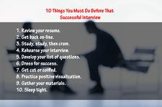 Things to Consider before that Successful ‪#‎Interview‬. ‪#‎seekcareerz‬ ‪#‎job‬