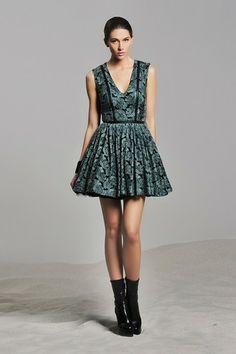 ALEXIS Trixie Short Bell Flounced Neck & Hem Dress by Fresh & Flirty: Easy Summer Dresses on @HauteLook