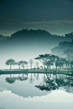 moon bridge . taiwan