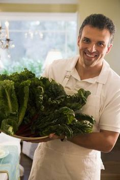 The Healthiest Way to Eat Kale - with detailed information on different ways to prepare it to boost either vitamin C, vitamin K, iron, or Calcium.