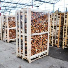http://www.haardhout.nl/product/hele-pallet-gemengd-openhaardhout/ - Pallet gemengd openhaardhout; komt overeen met circa 2m3 gestapeld haardhout.  Samenstelling: Meerdere soorten haardhout mogelijk, Els, Berk, Eik, Es.  2m3 gestapeld openhaardhout is ca. 3,2 m3 losgestort.