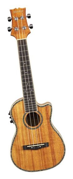 Mitchell MU100CE Acoustic-Electric Ukulele Natural Koa (via Musician's Friend)