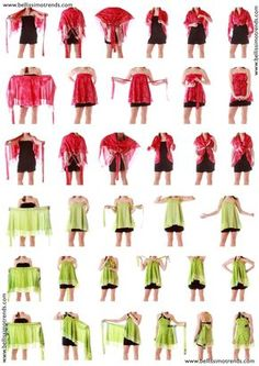 Pareos falda transformables multiusos - Instructions : How to wear Skirts More Source by BiblioVerg - Vestido Convertible, Convertible Clothing, Skirt Fashion, Diy Fashion, Fashion Beauty, Infinity Dress, Silk Wrap, How To Wear Scarves, Refashioned Clothes
