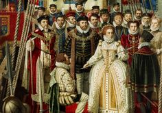 April 4, 1581, Francis Drake is knighted by Elizabeth I for completing a circumnavigation of the world.