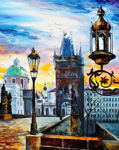 Saint Petersburg new. Leonid Afremov. Russia.
