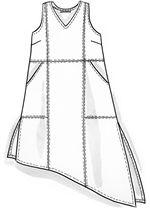 Tunika pellavaa/puuvillaa – Paidat & tunikat – GUDRUN SJÖDÉN - vaatteita verkossa ja postimyynnissä