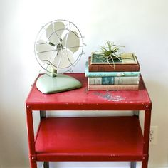 Vintage and RED! love