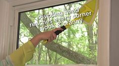 Simple solutions for clean, streak-free windows. Window cleaning tips from Invisible Glass. Window Cleaning Tips, Cleaning Hacks, Streak Free Windows, Invisible Glass, Corner Nook, Window Cleaner, Clever, Cleaning Tips