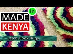 MADE IN KENYA - SEASON 4 - LATCH HOOK RUGS - DIDEE MATS - YouTube