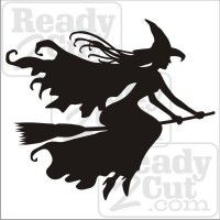 Minglewood Trading Witch on Broomstick Vinyl Decal Sticker Witchcraft Halloween Wicca - x Retro Halloween, Holidays Halloween, Halloween Crafts, Happy Halloween, Halloween Decorations, Primer Halloween, Halloween Painting, Witch Painting, Halloween Stencils