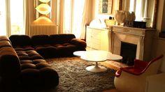 """Ce canapé """"Camaleonda"""" du designer et architecte milanais Mario Bellini date du début des années 1970."""