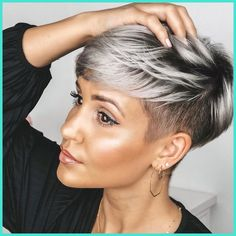 Today we have the most stylish 86 Cute Short Pixie Haircuts. We claim that you have never seen such elegant and eye-catching short hairstyles before. Pixie haircut, of course, offers a lot of options for the hair of the ladies'… Continue Reading → Popular Short Hairstyles, Cute Short Haircuts, Short Undercut Hairstyles, Black Hair Short Hairstyles, Pixie Cut With Undercut, Edgy Pixie Haircuts, Undercut Pixie Haircut, Pixie Haircut Styles, Female Hairstyles