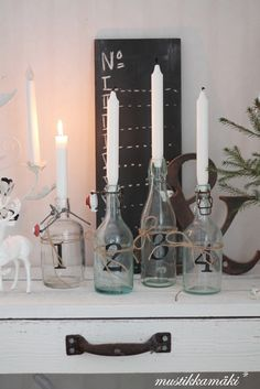 Christmas Time, Xmas, Christmas Ideas, Advent, Winter Wonderland, Sweet Home, Shabby, Candles, Festive
