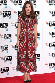 Best dressed - Keira Knightley in a Valentino dress