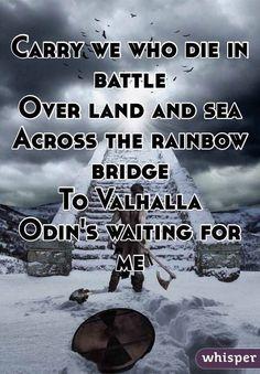 #Valhalla #Odin #norsemythology