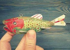The Collectors: Handmade Ice Fishing Decoys | The Etsy Blog