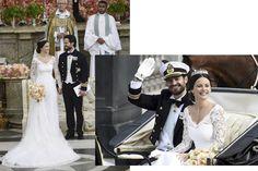 Os melhores casamentos de 2015 - O príncipe Carl Philip, terceiro na linha de sucessão ao trono da Suécia, se casou com a ex-modelo Sofia Hellqvist