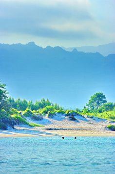 Corse du sud, la plage de San Ciprianu