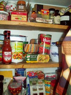 Two birdies and a B.: My Cozy Pantry