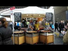 Street Food in the UK is usually take away finger style food or drink sold in the street or other public places, by a vendor/caterer usually from a stall, cart, van or trailer. British Street Food really is taking off...